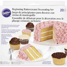 wilton 20 pc beginning buttercream decorating set u2013 mia cake house