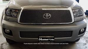 toyota sequoia toyota sequoia 2008 2017 upper grille u0026 lower valance grille