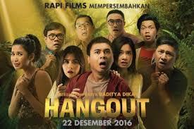 film layar lebar raditya dika hangout 2016 review zona baru raditya dika dengan cara lama