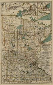 State Map Of Minnesota by Land Management Railroad Map Conversion Project
