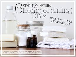 Home Clean 6 Simple U0026 Natural Home Cleaning Diys Made With Just 6 Ingredients
