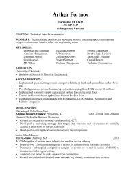 Inside Sales Rep Resume Technical Sales Resume Resume For Your Job Application
