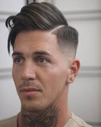 fade haircuts both sides hairstyles side part hairstyles for men 2017