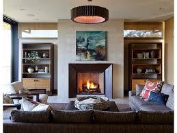 unique fireplace mantel small dark wood floor vase recessed