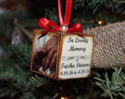 in memory ornament etsy