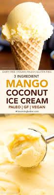 cuisinez v 3 ingredient mango coconut vegan v df paleo an easy