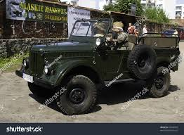 old military jeep radzionkow poland june 04 old military stock photo 79040569