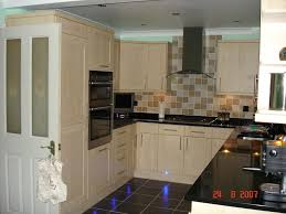 terrific white u shaped kitchen design with nice wood cabinet