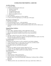 Effective Resumes Examples by Effective Resumes Virtren Com