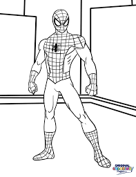 spiderman to color wonderful inspiration spiderman printable