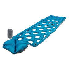 inertia ozone lightweight effiecient smart sleeping pad klymit