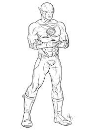 Superhero Halloween Coloring Pages The Flash Superhero Coloring Pages 27891 Bestofcoloring Com