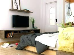 tv in the bedroom desk and in bedroom bedroom wall tv setup ideas