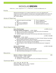 Resume It Sample by Curriculum Vitae Sample Cover Letter Free Professional
