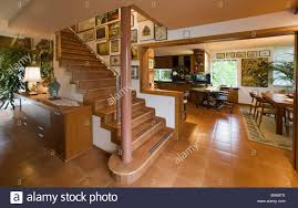 living space openly hall kitchen dining rooms stairway ascent