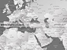 Printable World Map Printable Personalized World Map With Cities Capitals Countries