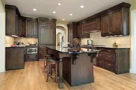 dark kitchen cabinets for beautifying kitchen design gallery dark kitchen cabinet is also good to be combined with light color for example if your kitchen floor has white color you can use dark kitchen cabinets