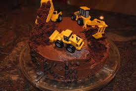 construction birthday cake two it yourself diy construction birthday cake in 3 steps bake