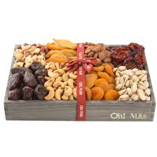 dried fruit and nuts gift baskets and trays oh nuts u2022 oh nuts