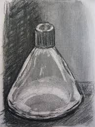 charcoal drawing and tone art with yvette