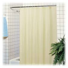 Polyester Shower Curtains Hotel Polyester Shower Curtains White Beige Lodgmate