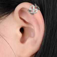 where to get cartilage earrings women ear clip cuff wrap cartilage earrings fashion clip on