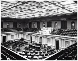 us senate floor plan thomas staples martin senator leader virginian
