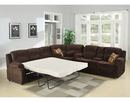 living room leather sectional sofa with recliner reclining