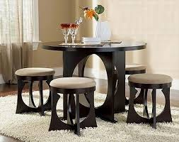 small dining room table sets attractive compact dining table and chairs and emejing small