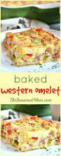 Egg Recipes For Dinner Baked Western Omelet The Seasoned Mom