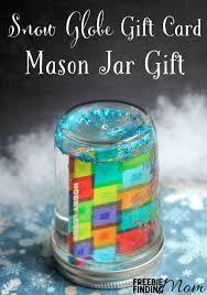 gift card snow globe diy gift card snow globes globe snow and gift
