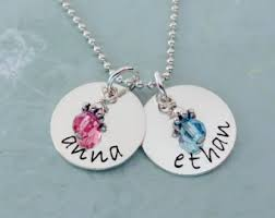name charm necklace name charm necklace etsy