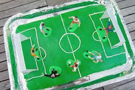 soccer cake marble cake with buttercream frosting diana dishes
