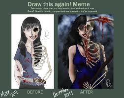 Draw It Again Meme - draw this again meme by juliajm15 on deviantart