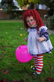 Raggedy Ann Costume Diy Halloween Costumes For Kids The Idea Room