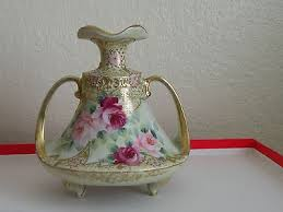 Antique Hand Painted Vases Vintage Antique Hand Painted Vases Collection On Ebay