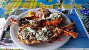 chien cuisine langouste grillée sauce chien picture of le rivage restaurant