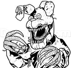 fnaf mangle coloring pages 50 best coloring images on free printable coloring