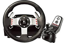 joystick volante logitech g27 ensemble volant p礬dales levier de vitesse pour pc