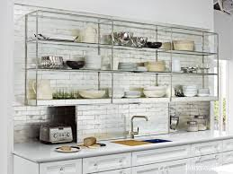 where to buy glass shelves for kitchen cabinets open shelving these 15 kitchens might convince you