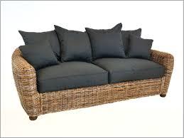 coussin d assise canap coussin assise exterieur 384707 canapé en rotin teinté avec coussin