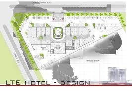 lte hotel ground floor plan danie joubert