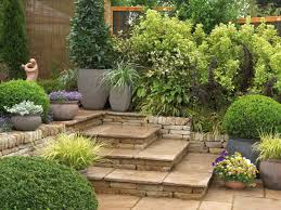 paved garden areas are low maintenance small landscaping ideas