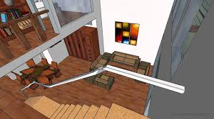 loft style house design sketchup model by chidanand sekar youtube
