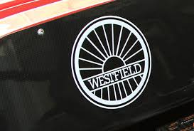 sports car logos breaking new westfield production sports car in early stages of
