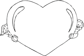 Coloring Pages Hearts Heart And Roses Coloring Pages Heart With Wings Coloring Pages Fee by Coloring Pages Hearts