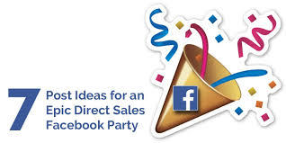 facebook weekday themes how to host an epic direct sales facebook party