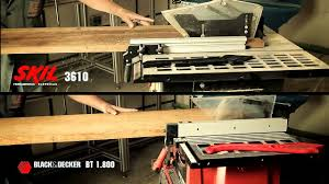 Skil 15 Amp 10 In Table Saw Skil Table Saw Youtube