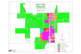 Il Map Maps Of Forsyth Il