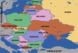 middle east map hungary map of eastern countries major tourist attractions maps